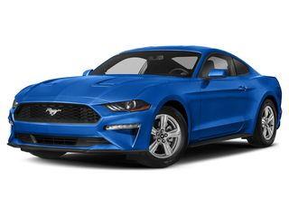 2019 Ford Mustang Coupe Velocity Blue Metallic