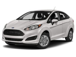 2019 Ford Fiesta Sedan White Platinum Metallic Tri-Coat