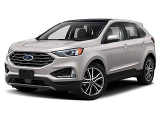 2019 Ford Edge SUV White Platinum Metallic Tri-Coat