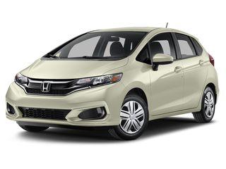 2019 Honda Fit Hatchback Platinum White Pearl