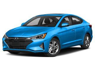 2019 Hyundai Elantra Sedan Teal Blue