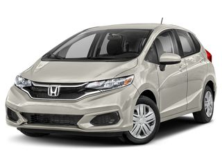 2020 Honda Fit Hatchback Platinum White Pearl