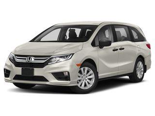 2020 Honda Odyssey Van Platinum White Pearl