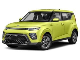2020 Kia Soul Hatchback Space Green
