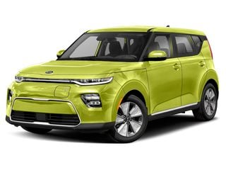 2020 Kia Soul EV Hatchback Space Green