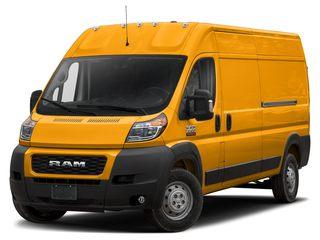 2020 Ram ProMaster 3500 Van School Bus Yellow