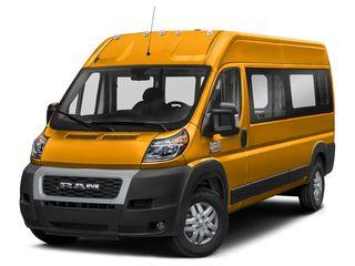 2020 Ram ProMaster 3500 Window Van School Bus Yellow