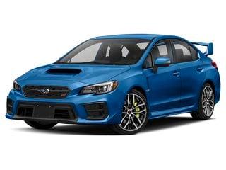2020 Subaru WRX STI Sedan World Rally Blue Pearl
