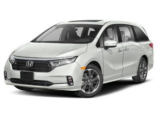 2021 Honda Odyssey Van Platinum White Pearl