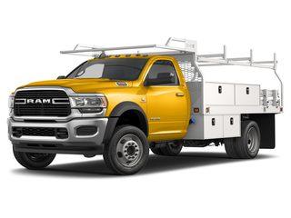 2021 Ram 4500 Chassis Truck Yellow