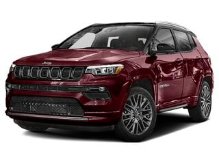 2022 Jeep Compass SUV Velvet Red Pearl