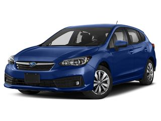 2022 Subaru Impreza Hatchback Sapphire Blue Pearl