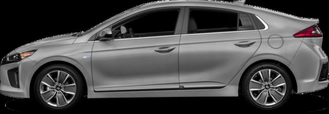 2017 Hyundai Ioniq Hybrid Hatchback Blue
