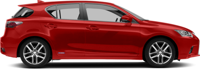 2017 Lexus CT 200h Hatchback Base (CVT)