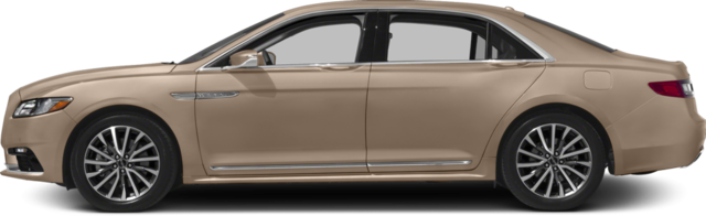 2017 Lincoln Continental Sedan Livery
