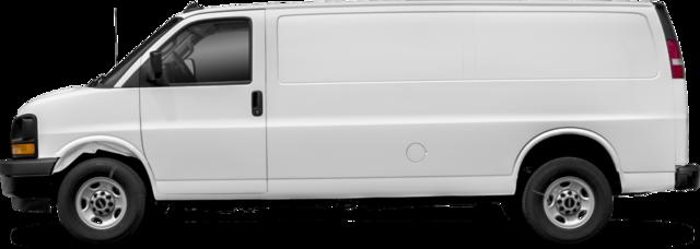 2018 GMC Savana 3500 Fourgon fourgon utilitaire