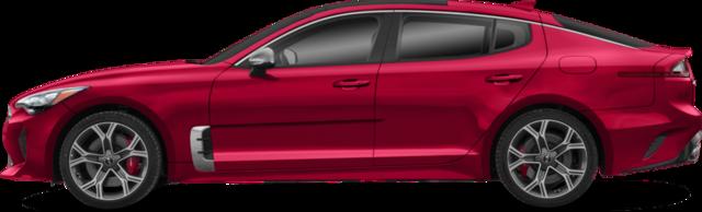 2018 Kia Stinger Berline GT Limited avec intérieur rouge