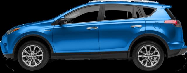 2018 Toyota RAV4 Hybrid SUV LE+