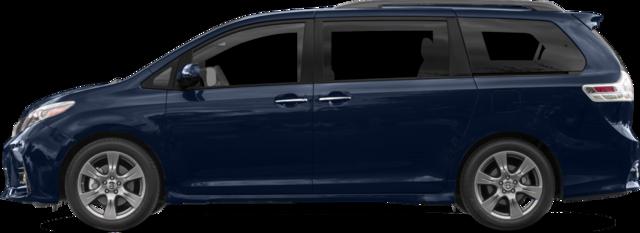 2018 Toyota Sienna Van SE 8-Passenger