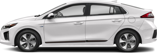 2019 Hyundai Ioniq EV Hatchback Preferred w/White Colour
