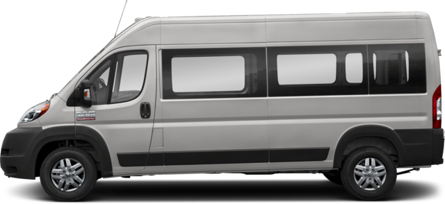 2019 Ram ProMaster 3500 Window Van High Roof