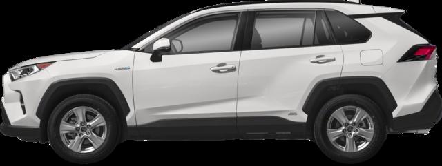2019 Toyota RAV4 hybride VUS LE