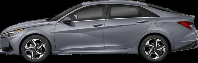 2022 Hyundai Elantra Sedan Ultimate w/Two-Tone Interior