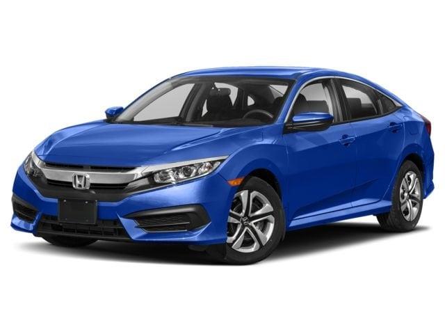 2018 Honda Civic Sedan Aegean Blue Metallic