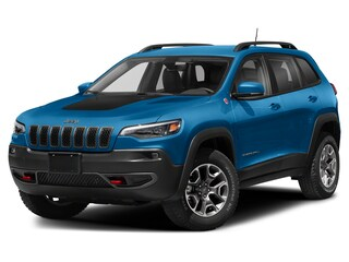 New 2021 Jeep Cherokee Trailhawk SUV for sale/lease in St. Paul, AB