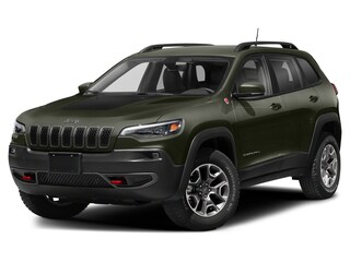 New 2021 Jeep Cherokee Trailhawk Elite 4x4 in Hanna, AB