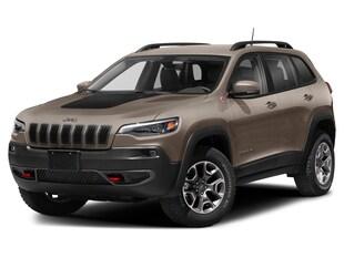2021 Jeep Cherokee Trailhawk SUV 1C4PJMBX9MD135361