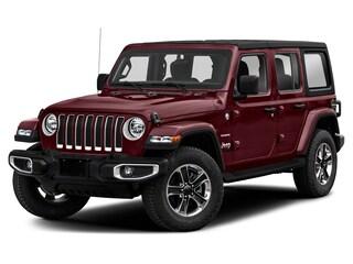 New 2021 Jeep Wrangler Unlimited Sahara 80th Anniversary Edition 4x4 Sport Utility 1C4HJXEG7MW613167 in Whitecourt, AB