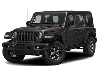 New 2021 Jeep Wrangler Unlimited Rubicon 4x4 Sport Utility 1C4HJXFG4MW626182 in Whitecourt, AB