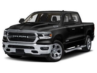 2021 Ram 1500 Big Horn 4x4 Crew Cab 144.5 in. WB for sale in Leamington, ON Diamond Black Crystal Pearl