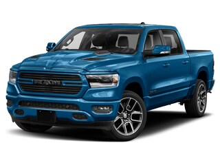 2021 Ram 1500 Sport 4x4 Crew Cab 144.5 in. WB for sale in Leamington, ON Hydro Blue Pearl