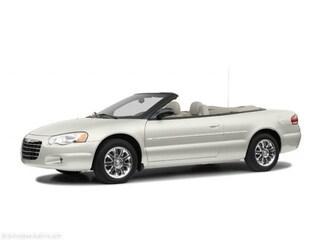 2004 Chrysler Sebring LXi Convertible