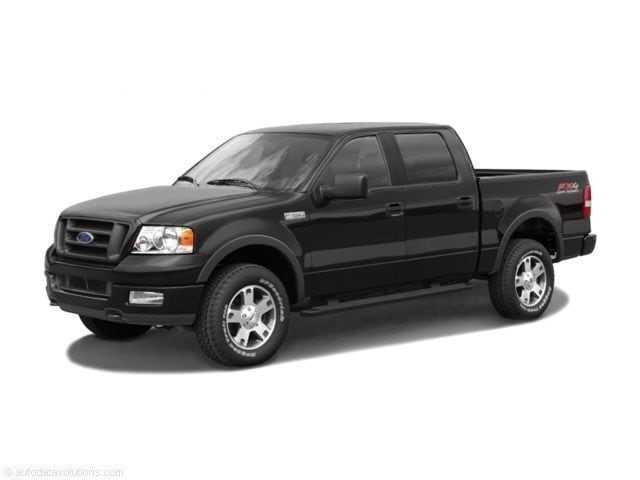 2005 Ford F-150 XLT Truck SuperCrew Cab