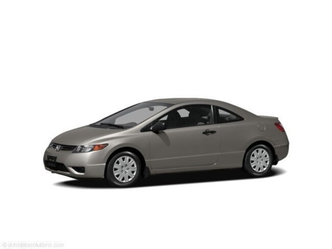 2007 HONDA CIVIC CPE GREAT SHAPE -- 1 OWNER -- 2 SETS OF TIRES! Coupe