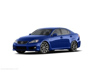 2009 LEXUS IS F LUXURY Sedan