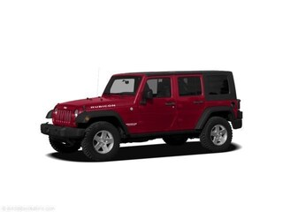 2010 Jeep Wrangler Unlimited Rubicon 4D Utility 4WD