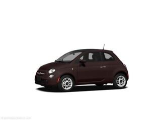 2012 FIAT 500 Lounge Sunroof, Park Assist Sedan