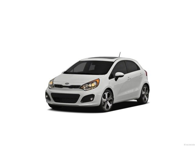 2012 Kia Rio5 Hatchback regular unleaded 6-Speed Automatic w/manual shift [] Front-wheel Drive Bright Silver