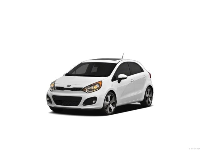 2012 Kia Rio LX (M6) Hatchback regular unleaded 6-Speed Manual [] Front-wheel Drive Clear White