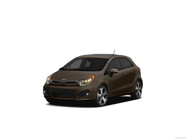 2012 Kia RIO LX Compact Gas AUTO Brown