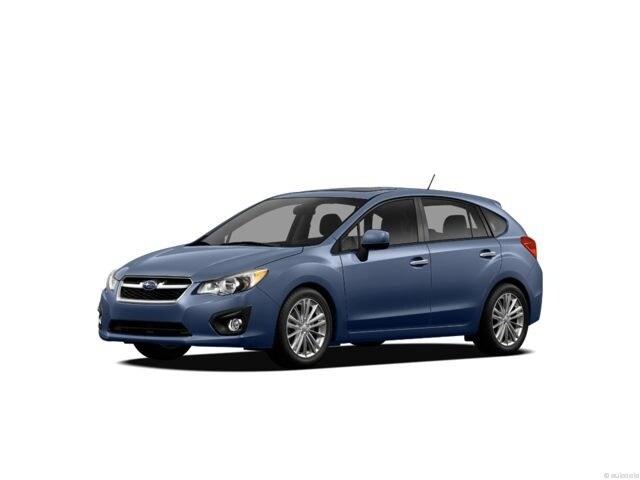 2012 Subaru Impreza 2.0I W/TOURING PKG Hatchback