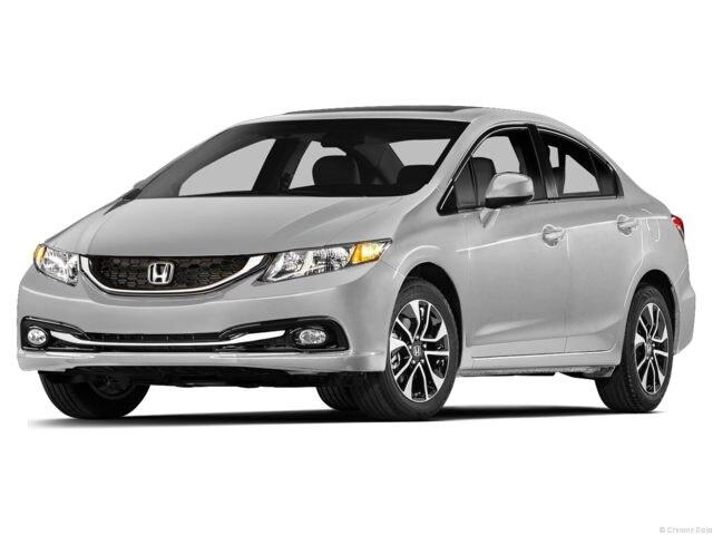 2013 Honda Civic EX (M5) Sedan