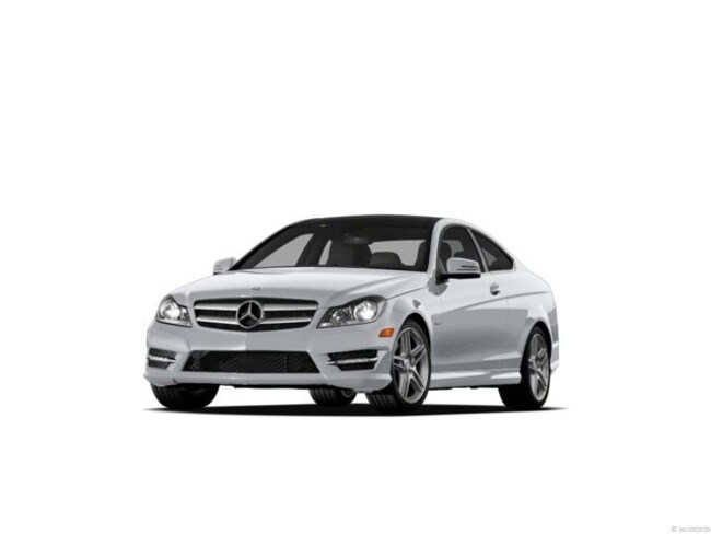2013 Mercedes-Benz C350 4matic Coupe Coupe