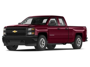 2014 Chevrolet Silverado 1500 LT Double Cab Std Box 4WD Truck Double Cab