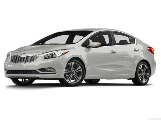 2014 Kia Forte 1.8L LX+ Sedan Gas 6 speed automatic Front-wheel Drive Clear White(UD)