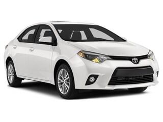 2014 Toyota Corolla LE Tech package, Navi, Leather, Moonroof Sedan